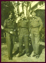Left to Right  ChasSmith WilliamWalker   SgtWilliam(REME) Armourer